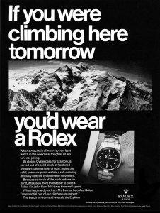 Rolex Vintage Ad